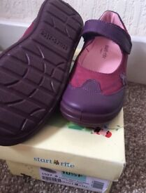 3 pairs of girl's school Startrite shoes