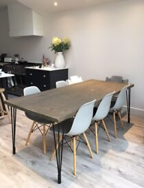 Dining table - industrial