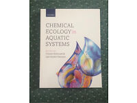 BRAND NEW CHEMICAL ECOLOGY IN AQUATIC SYSTEMS