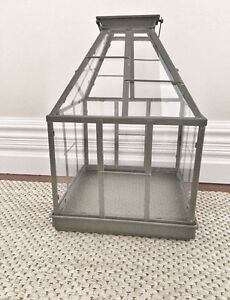 Large Hamptons Style Greenhouse Candle Holder Marrickville Marrickville Area Preview