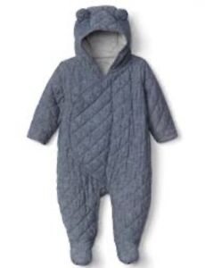 Baby Gap Unisex Quilted one-piece