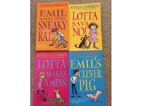 Astrid Lindgren children's books