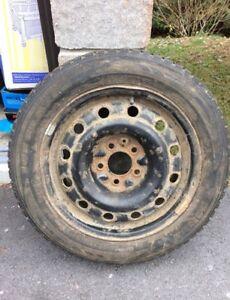 205/55 R16 Salium Ice blazer winter tires and Rims!