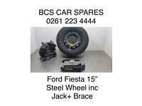 "Ford. Fiesta Steel wheel inc tool kit. 15""."