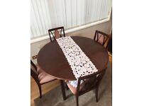 G plan expandable table