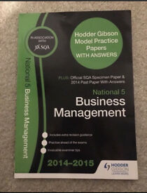 National 5 Business Past Papers