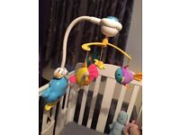 Vtech whale cot mobile and projector with sound sensor