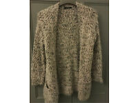 C fluffy cardi with pockets size 12