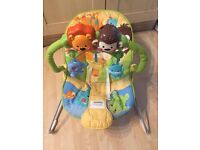 Fisher price bouncy baby chair