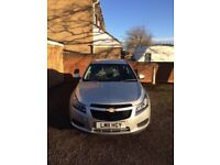 Chevrolet Cruze S 2011. Low mileage. Long mot. Great condition