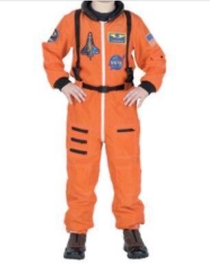 Get Real Gear Dress Up Nasa Flight Suit Commander Astronaut Costume  Sz - Nasa Astronaut Flight Suit
