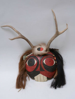 Abenaki Spirit Mask by Gérard Anthony Tsonakwa Rancourt Jr.
