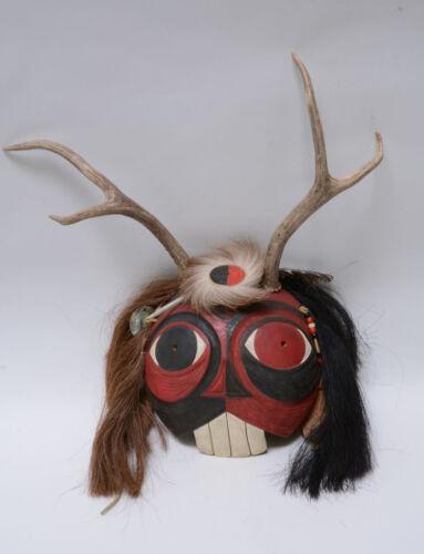 Abenaki Spirit Mask by Gérard Anthony Tsonakwa Rancourt Jr.