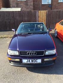 1994 Audi Cabriolet 2.6 V6 manual with electric roof