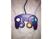 Official GameCube Indigo Clear Controller - RARE FIND!