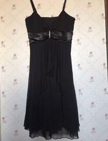 Black party dress - size 10