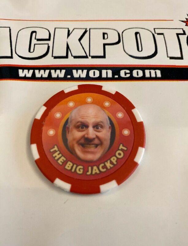 The Big Jackpot Poker Chip - Orange Raja
