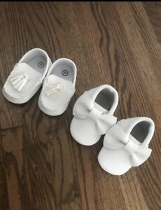 Baby girls shoes 0-6 months