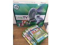 LeapTV by LeapFrog with 4 Games