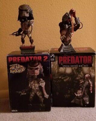Predator SE Polystone Mini Bust #2213/3000. Headknockers predator 2 set