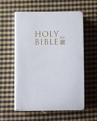 The Holy Bible King James Version Old & New Testaments White / GIVEAWAY SALE