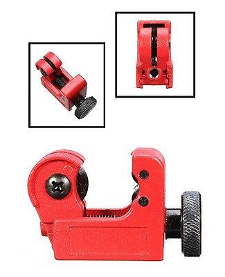 "Mini Tubing Cutter 1/8"" to 5/8"" HVAC Brake Plumbing Pipe Copper Tube Cutting"