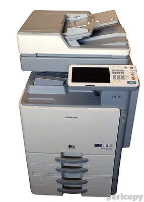 Samsung CLX 9250DN Farbkopierer Scanner Drucker FAX Duplex LAN USB