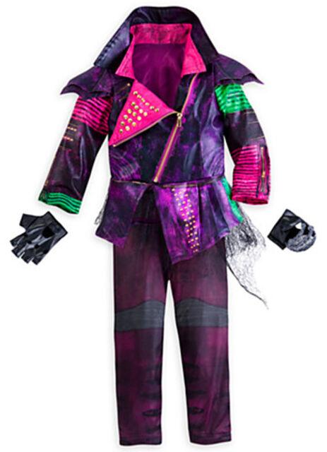 disney store descendants mal deluxe halloween costume for girls size 56 - Deluxe Halloween Costume