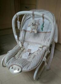 Baby Bouncer Chair with soothing music and vibrate