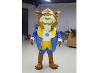 UK SELLER Brand New Adults Beast Mascot Costume fancy dress awesome suit £174.99 plus £13 popstage