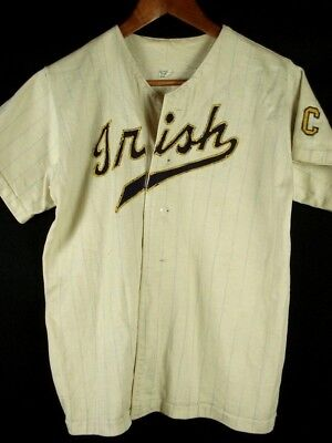 Vintage 50s 60s Russell Southern Co Baseball Jersey Shirt IRISH Boys - 50s Boy Clothes