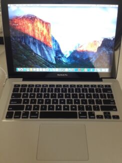 """MacBook Pro 13"""" late 2011 i5 2.4GHz/ 4GB/ 500GB HDD very good Doncaster East Manningham Area Preview"""