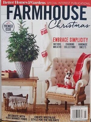 Better Homes & Gardens Farmhouse Christmas 2018 ideas crafts FREE SHIPPING