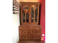 2 x *Top* of Pine Dressers/Display Cabinets