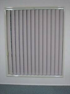 VERTICAL BLINDS / DRAPES for 3 WINDOWS & FITTINGS COVERINGS Sunnybank Brisbane South West Preview