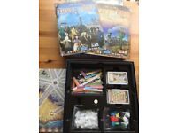 Ticket to Ride Expansion France/Old West board