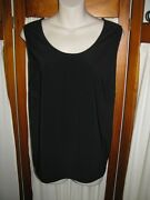 LADIES CAMI / CAMISOLE TOP – SIZE 14-16 LARGE  – BLACK BRAND NEW Sunnybank Brisbane South West Preview