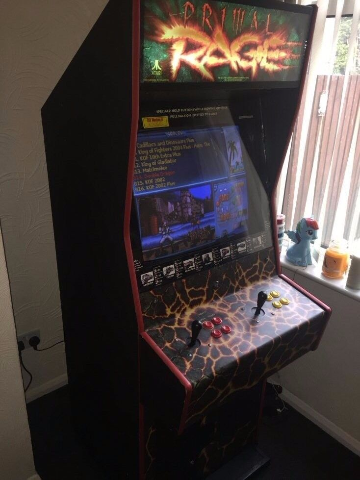 Atari Primal Rage Arcade Machine Cabinet Retro coin operated ...