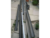 guttering used - still usable - free of charge if you collect from Caerphilly