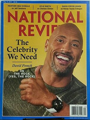 National Review May 15 2017 The Celebrity We Need The Rock Free Shipping Sb