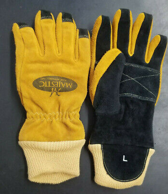 Majestic Structural Firefighting Glove Wristlet Size L