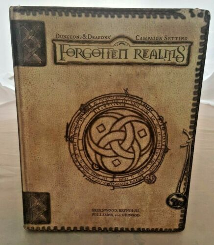 Forgotten Realms Campaign Setting Dungeons and Dragons 3rd ed. WOTC
