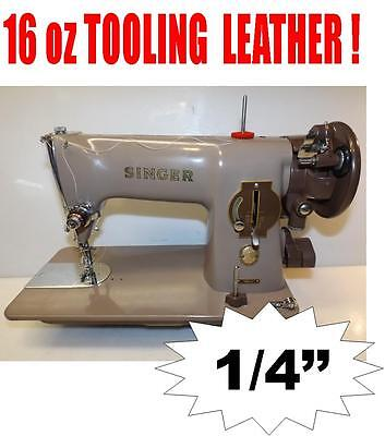 Singer Industrial Strength Heavy Duty Sewing Machine Leather