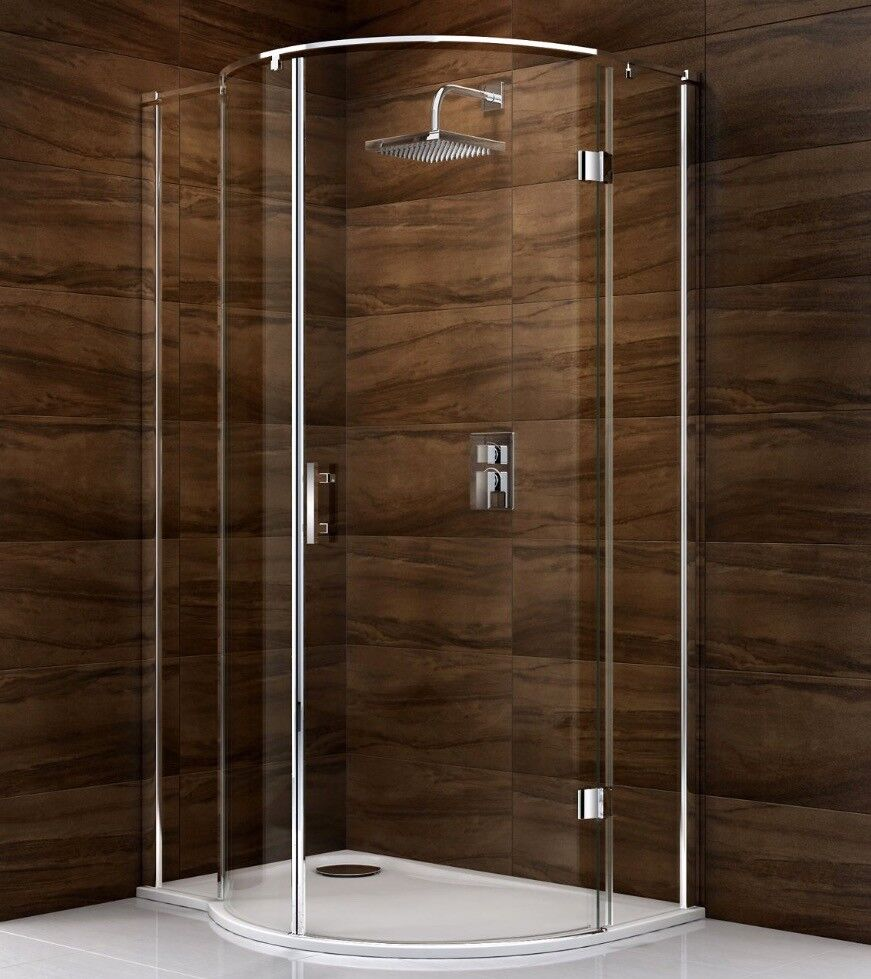 COOKE & LEWIS CASCATA P SHAPED RH SHOWER ENCLOSURE   in Chiswick ...
