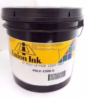 Union Ink Light Grey Ef Poly Lb P428 Pole-1508-g 1 Gallon