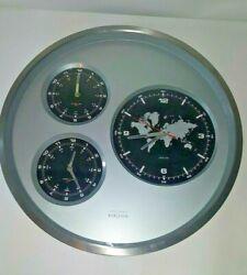 KARLSSON Wall Clock Big Tic World Time