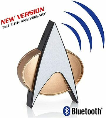 Star Trek Next Generation Bluetooth Communicator Badge  Star Trek Character