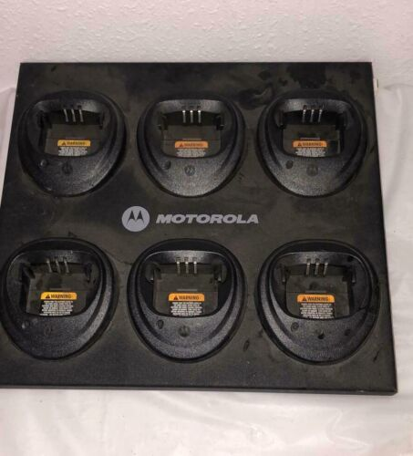 Motorola Gang Charger WPLN4171A Compatible With CP200 PR400