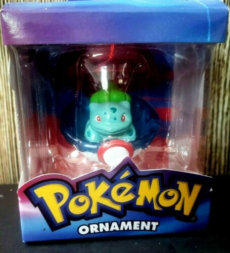 NEW NINTENDO Pokemon Christmas Ornament BULBASAUR PokeBall Figure 2005