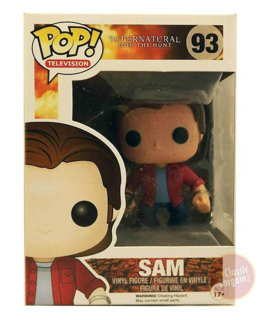 Supernatural - Sam Blood splatter Pop! Vinyl Figure NEW Funko Sam Winchester